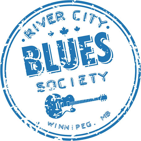 Logo for River City Blues Society