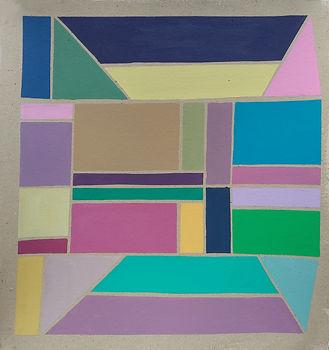 Still life in Pastel, 82 x 75 cm, acryli