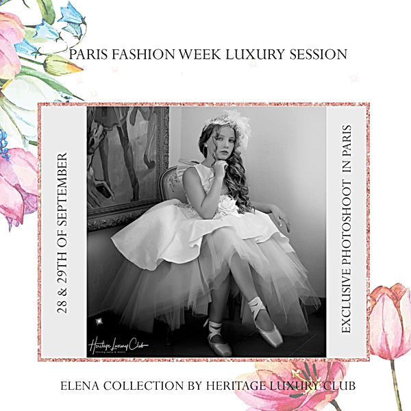 ELENA COLLECTION X HLC PARIS FASHION WEE