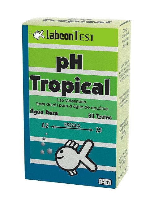 Teste Labcon pH Tropical (60 testes)