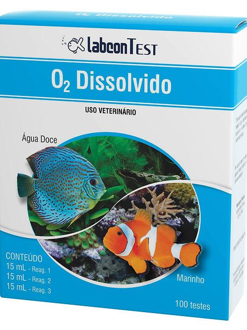 Teste Labcon Oxigênio Dissolvido (100 testes)