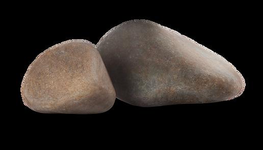 Pedra granito rolado rolada para lago