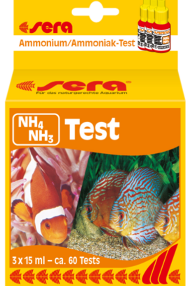 Teste Amônia (NH3/NH4) (65 Testes)