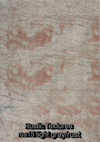 Nourison rustic textures rus15 light gra