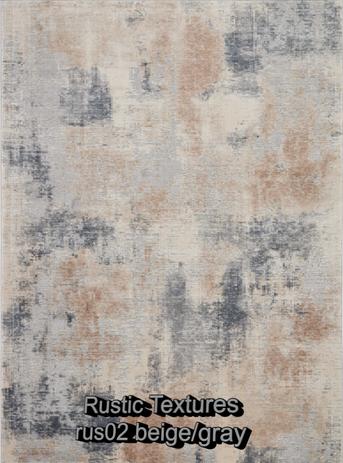 Nourison rustic textures rus02 beige-gra