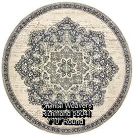 oriental weavers richmond  5504i round.j