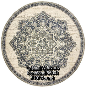 oriental weavers richmond  5504i round.j
