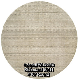 oriental weavers richmond  801h round.jp