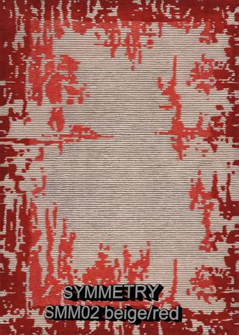 Nourison Symmetry smm02 beige-red.png