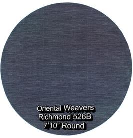 oriental weavers richmond  526b round.jp