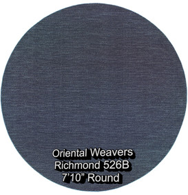 oriental weavers richmond  526b round.jp