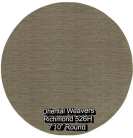 oriental weavers richmond  526h round.jp