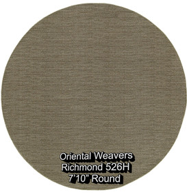 oriental weavers richmond  526h round.jp