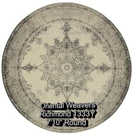 oriental weavers richmond  1333y round.j