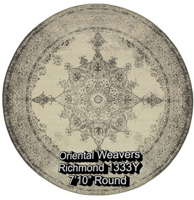 oriental weavers richmond  1333y round.j