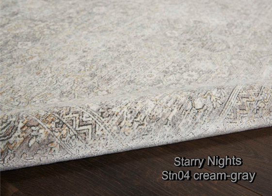 Nourison starry nights stn04 cream-gray