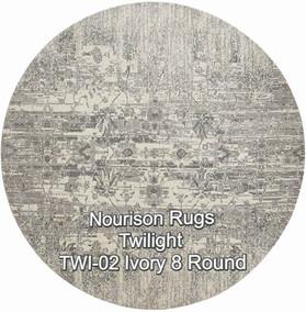 Nourison TWI-02 ivory 8 round.jpg