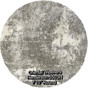 oriental weavers henderson 5503h round.j
