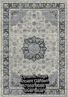 Dynamic Rugs AG 57559-9686 SILVER-BLUE.j