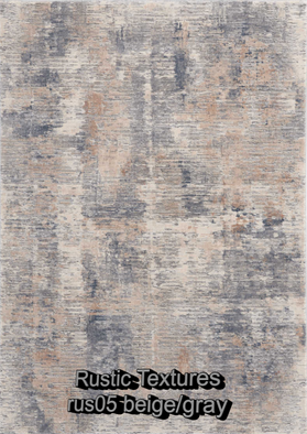 Nourison rustic textures rus05 beige-gra