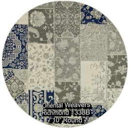 oriental weavers richmond  1338b round.j