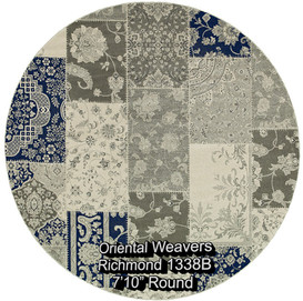 oriental weavers richmond  1338b round.j