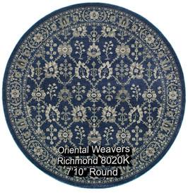 oriental weavers richmond  8020k round.j