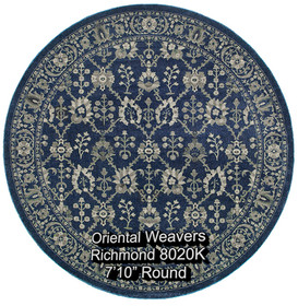 oriental weavers richmond  8020k round.j