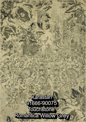 karastan touchstone romantic willow grey