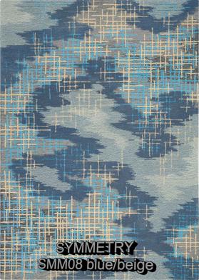 Nourison Symmetry smm08 blue-beige.png