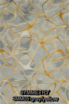 Nourison Symmetry smm05 gray-yellow.png