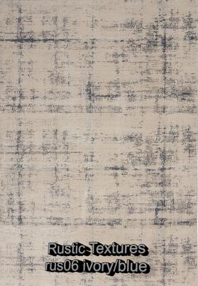 Nourison rustic textures rus06 ivory-blu
