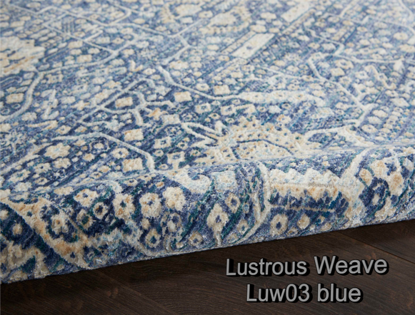 Nourison lustrous weave luw03 blue c1.pn