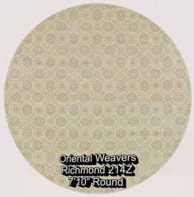 oriental weavers richmond  214z round.jp