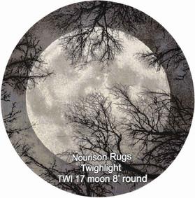 Nourison Twighlight TWI 17 moon 8 round.