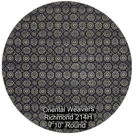 oriental weavers richmond  214h round.jp