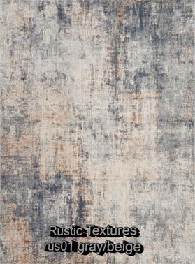 Nourison rustic textures rus01 gray-beig