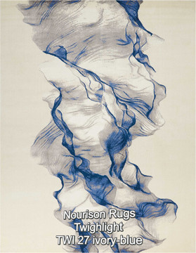 Nourison Twighlight TWI 27 ivory-blue.jp
