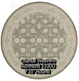 oriental weavers richmond  1330u round.j