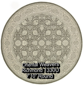 oriental weavers richmond  1330u round.j