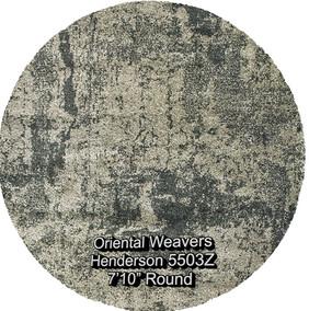 oriental weavers henderson 5503z round.j