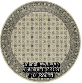 oriental weavers richmond  4440s round.j