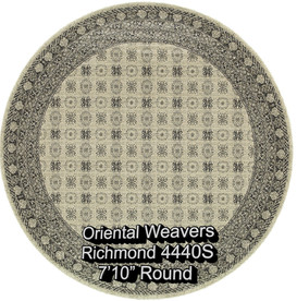 oriental weavers richmond  4440s round.j