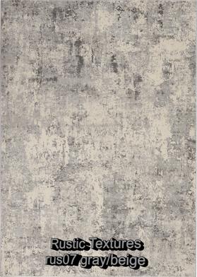 Nourison rustic textures rus07 gray-beig