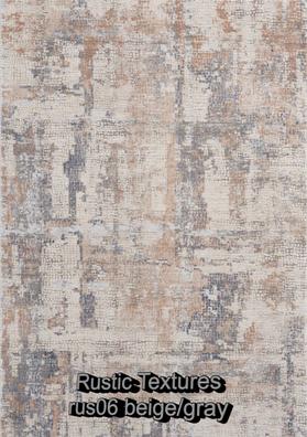 Nourison rustic textures rus06 beige-gra
