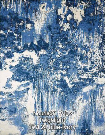 Nourison Twighlight TWI 24 blue-ivory.jp