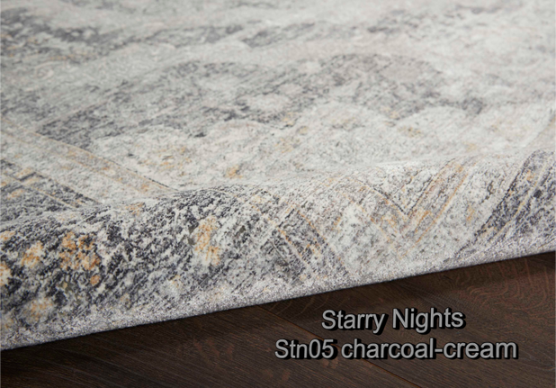 Nourison starry nights stn05 charcoal-cr