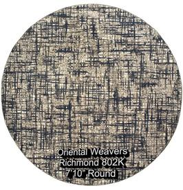oriental weavers richmond  802k round.jp