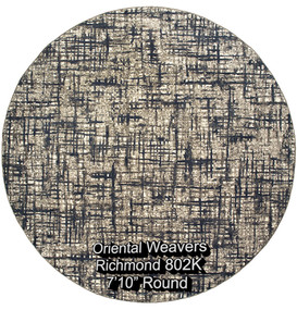oriental weavers richmond  802k round.jp