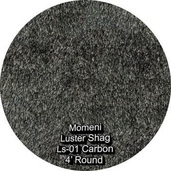 Momeni Luster Shag 01 carbon round.jpg